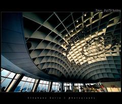 Tokyo - FujiTV Building (SGarin) Tags: building japan architecture tokyo nikon fuji odaiba portfolio paysage fujitv d700