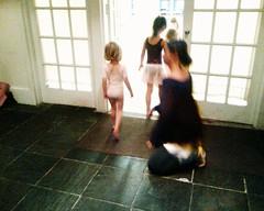 Going Into Dance Class