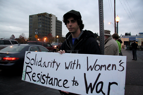 Solidarity with Women's Resistance to War