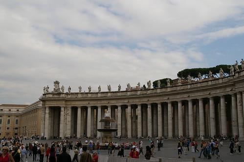 梵蒂岡前的廣場