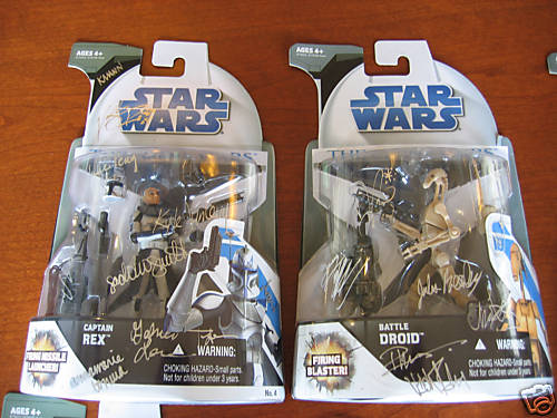 clone wars signed toys by Official Star Wars Blog