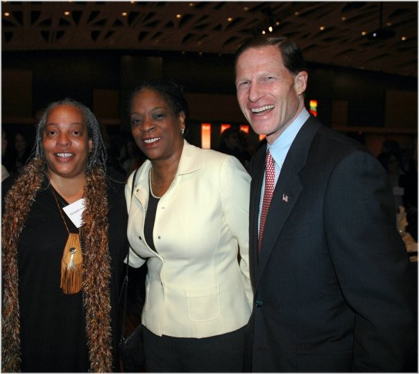 Elizabeth Horton Sheff, Denise Napier, Attorney General Richard Blumenthal by vivahartford