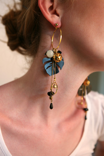 supermandolini tropic earrings