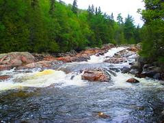 Falls on the Chippewa River