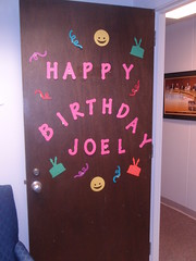 birthday door