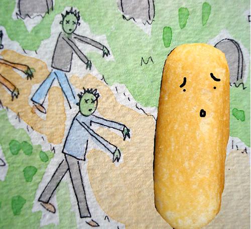 Twinkie Zombie attack!