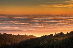 Mountain, Ocean, Fog (jtimblin) Tags: california sunset fog coast marin mttam sfbayarea hdr mttamalpais tamron1750mmf28