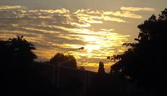 Burning clouds (exploring myself..) Tags: city sunset sky chandigarh raman surise sharma burningclouds ramansharma