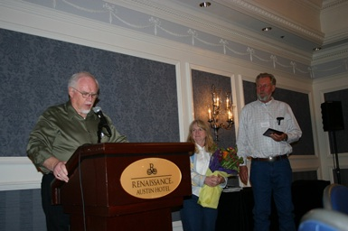 "Ralph & Marcia Snyder recieve ""spirit of Liberty' Award"