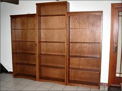 New bookcases