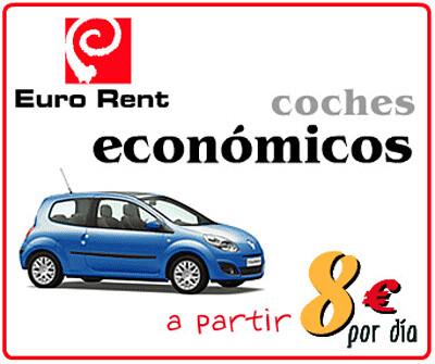 Alquiler de coches economicos en Baleares desde 8 euros al dia