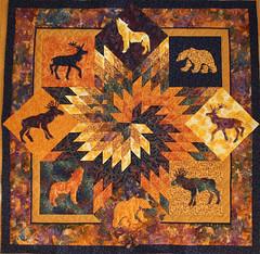 midnight sun polar night (quilter422) Tags: animals quilt applique lonestar batik jankrentz
