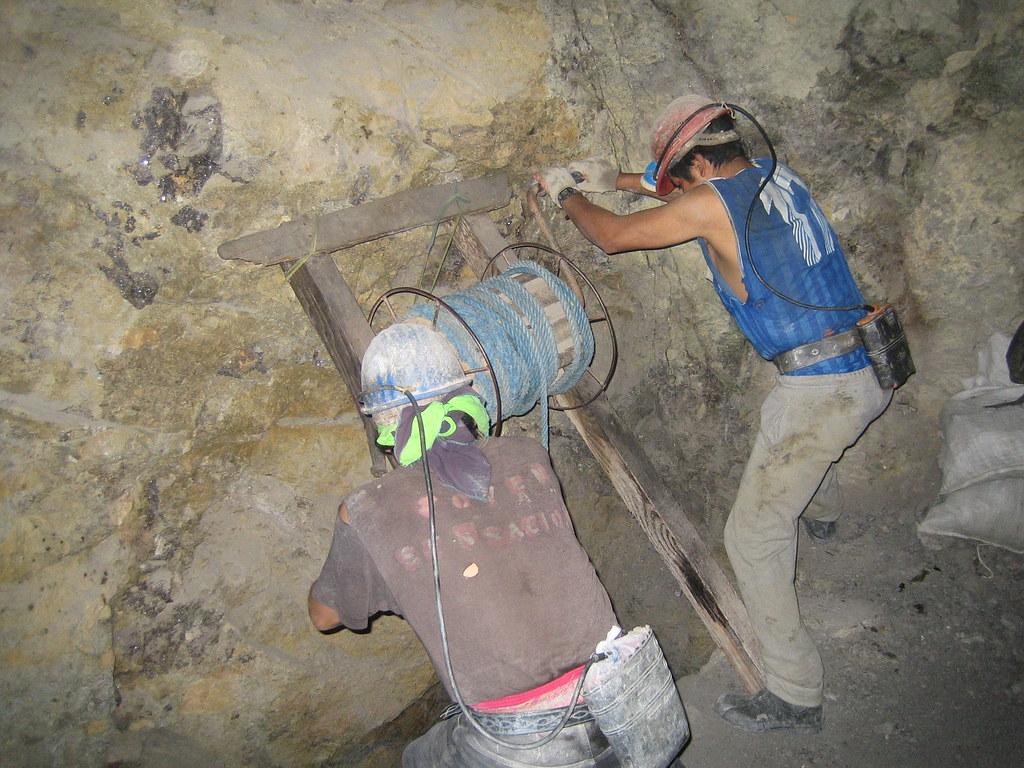 Miners, Potosi Mines, Cerro de Potosi, Bolivia