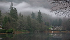Loch Ard 5 (mag379) Tags: mist water scotland nikon loch ard aberfoyle lochard d80 httpwwwflickrcomphotostagsthebiggestgroup