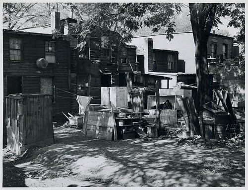 Negro slum area between D and C Streets off 1st Street, SW, ...