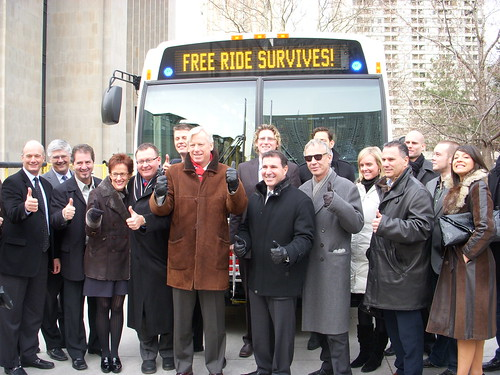 All the Sponsors of Toronto's TTC Free Rides on New Year's Eve