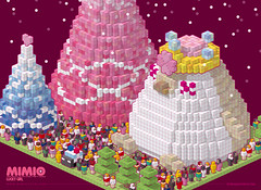 MIMIO`S BOX PIXEL WORLD * focus (Maxpipi) Tags: pink wallpaper cute girl fashion doll box lucky pixel kawaii download merrychristmas  mimio
