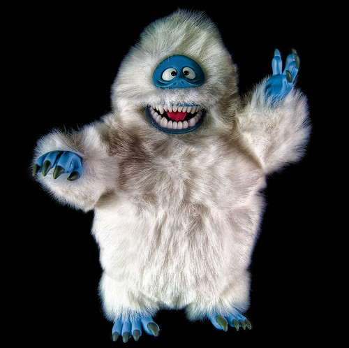 [abominable snowman] by pocolover1957, on Flickr