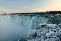 Horseshoe Falls in Winter (Colleen Shepherd) Tags: winter snow ontario canada cold ice niagarafalls frozen waterfall horseshoefalls artofimages