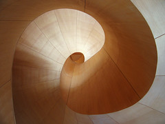 Gehry's Spiral (livinginacity) Tags: new city urban toronto canada building museum architecture modern buildings wow wonderful spiral design cool stair transformation superb contemporary unique awesome surreal gehry architect wicked staircase scifi civic ago rebirth sublime urbanism frankgehry  recent pritzger addition spiralstaircase joyous expansion avantgarde institutional artgalleryofontario sensuous   mathmatics spiralling   somethingnew   idiosyncratic reorganization archidose  transformationago gehrypartners mathmatica  a pritzgerprize