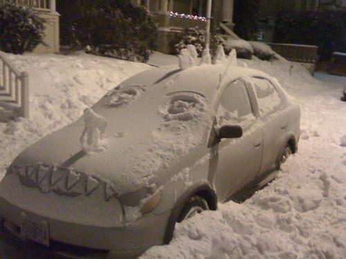 Snowpocalypse, Portland, Oragon