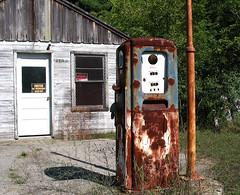 Abandoned Gas Station (scott_z28) Tags: abandoned michigan gasstation gaspump midlandmi