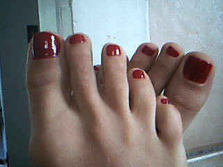 Christmas ToeNail art for toes