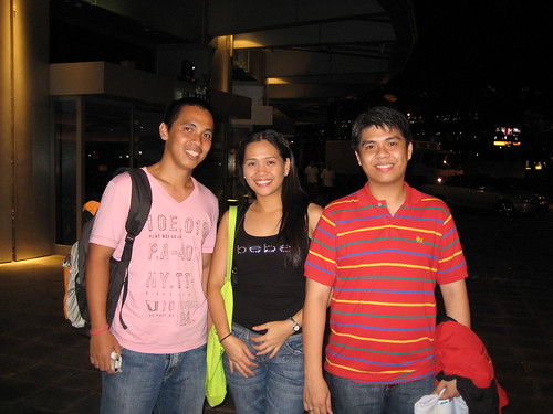 hubby with glomark and daryl
