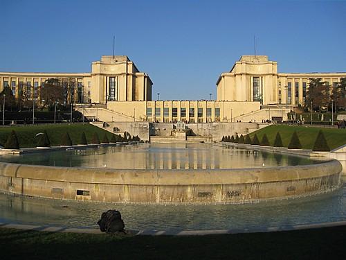 Palacio Chaillot: Arquitectura en Paris