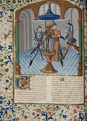 Full page with miniature of Antony