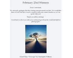 Validation. (cwwphotos) Tags: blue trees winter light sunset shadow sky sun sunlight snow cold silhouette clouds bright contest rays sunrays lightrays treeclipse photographycontest studio414 studio414contest