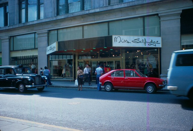 1976 - London - Oxfordstr. - Miss Selfridge