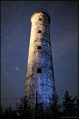 Harrbdan (Jonas Thomn) Tags: longexposure trees lighthouse night stars flashlight startrails lightpaint
