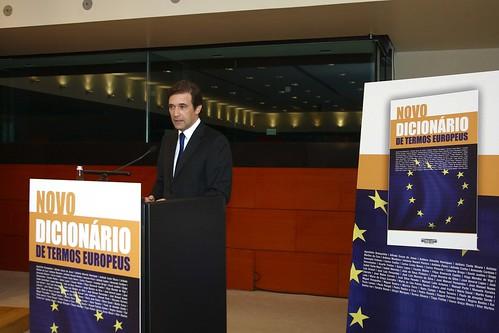 Pedro Passos Coelho no Lançamento do Livro de Carlos Coelho