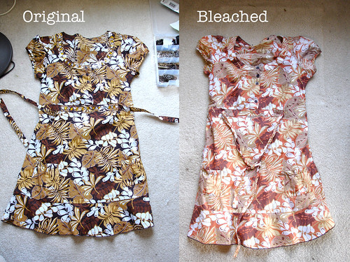Safari Dress: Bleached!