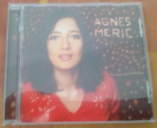 Le deuxième album d'Agnes Meric - face