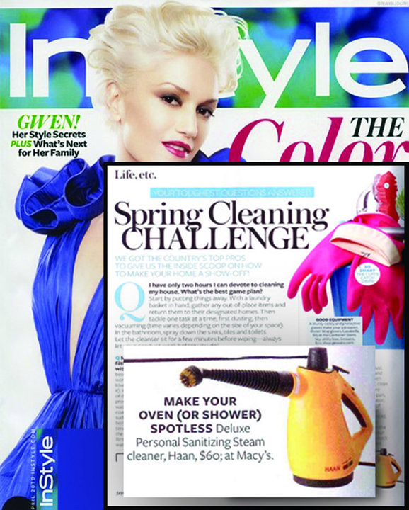 HAAN in InStyle Magazine