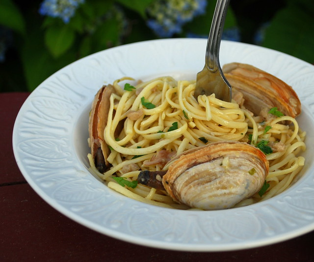 Linguini Clam Sauce1