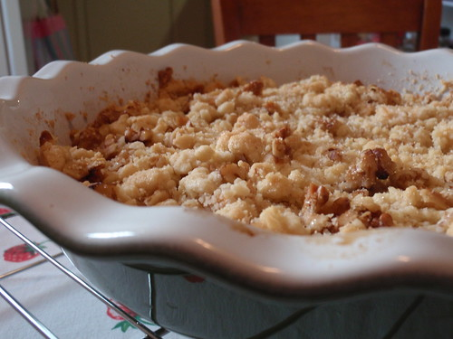 The Crumble is Ready for Its Close-Up
