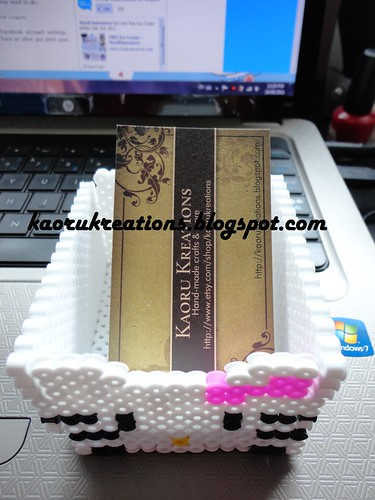 Hello Kitty Name Card Holder