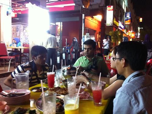 Dinner the night before Joomla!Day Malaysia 2011