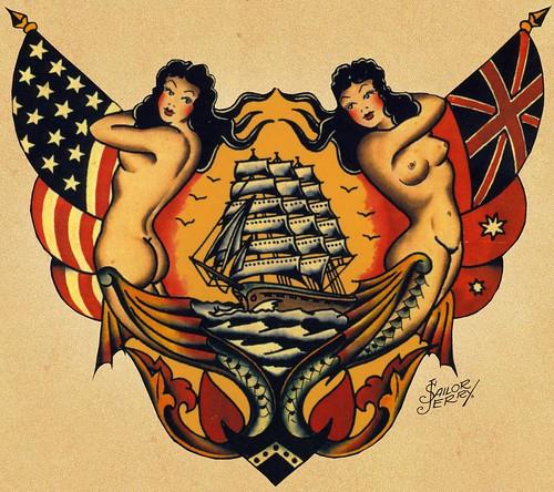 sailor jerry tattoos. Sailor jerry 45