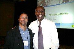 Network Solutions CEO Roy Dunbar and Shashi Bellamkonda - Social Media Swami
