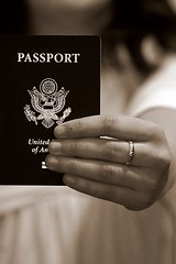 Adios Amigos! (Emmy Gee) Tags: travel vacation d50 hand unitedstates dominicanrepublic dr ring passport excitement portaplata