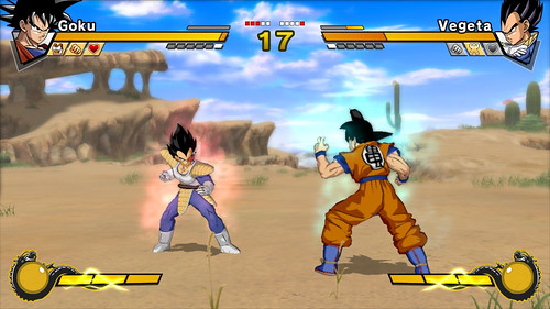 Dragon Ball Z Burst Limit Goku y Vegeta