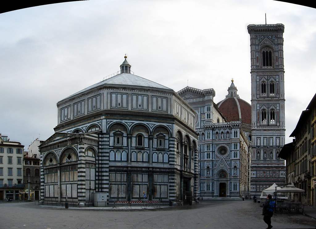 Baptistery, Duomo, and Giotto's Tower