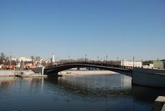 Luzhkov bridge (akk_rus) Tags: city bridge nikon cityscape russia moscow cities cityscapes moskau moscou москва россия moscowriver rusa река мост d80 mywinners москварека лужковмост