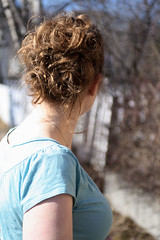 159/365 (Valette) Tags: me hair curls overexposed day159 updo valette backofmyhead 365days gtwl
