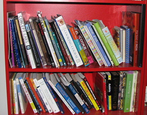 cookbooks and other reference books