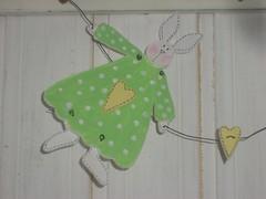 Green Tilda Bunny